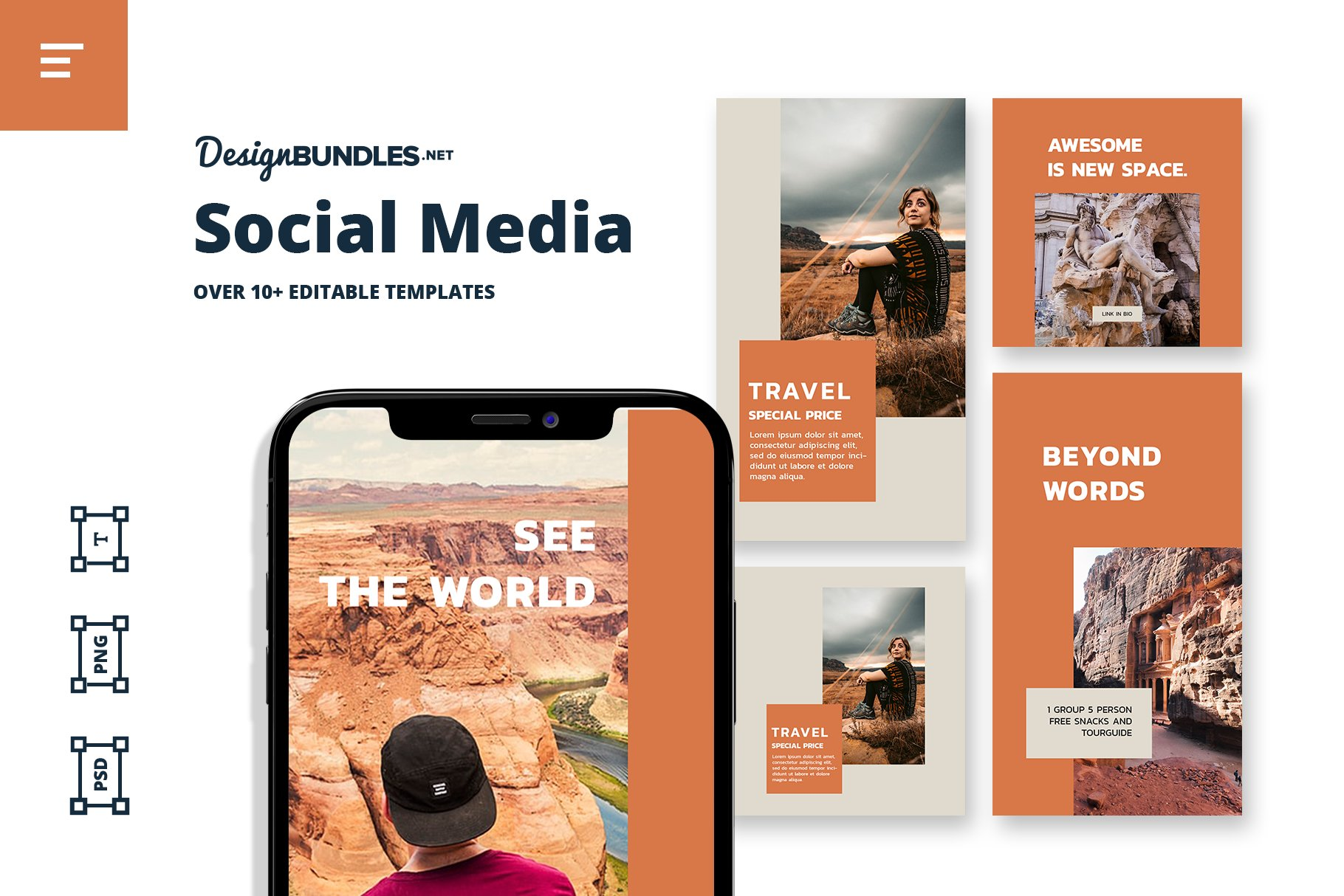 Social Media Template example image 1