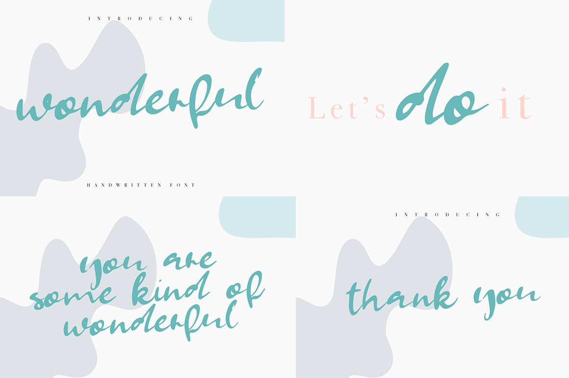 Font Bundle 70 in One example image 15