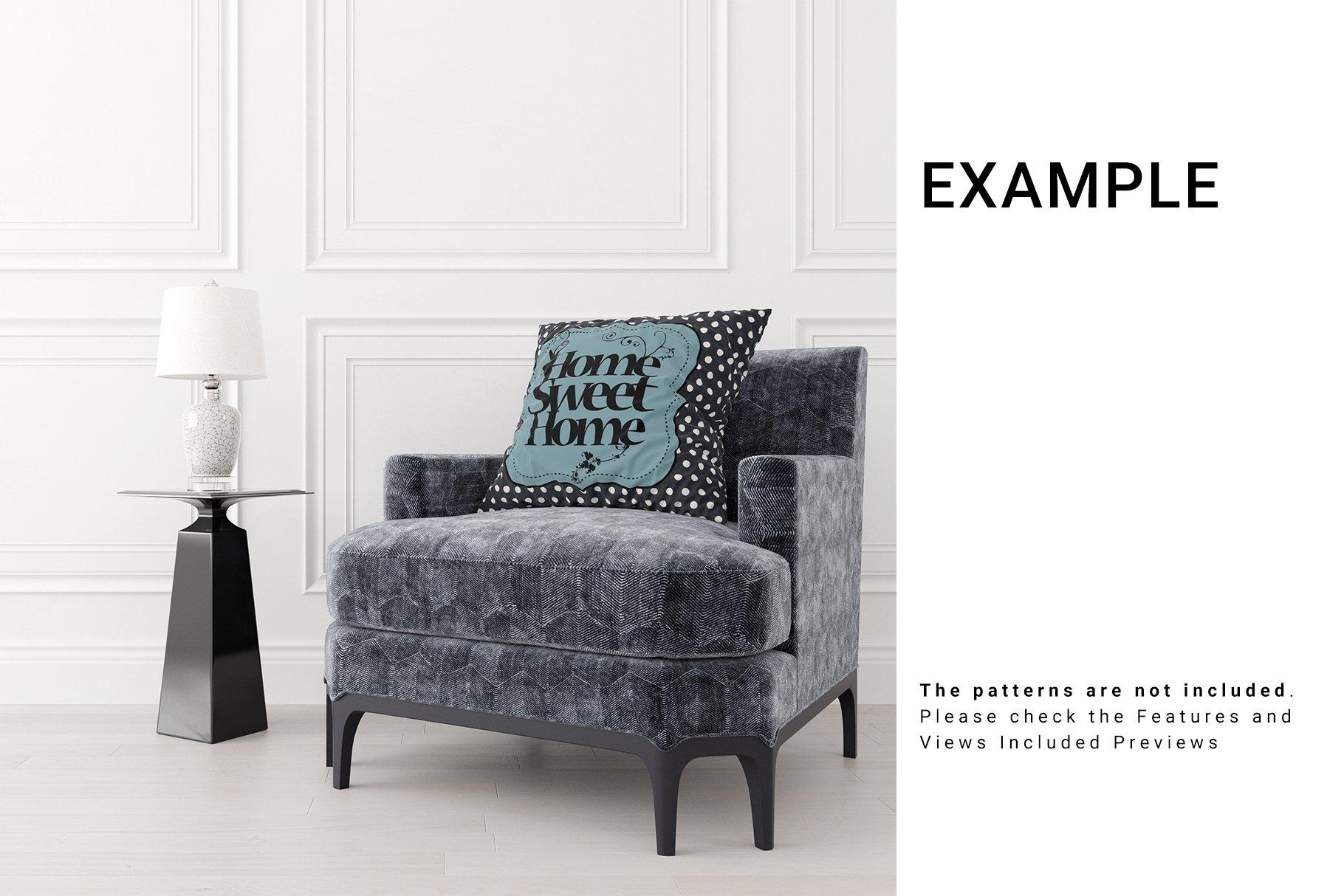 Luxury Interior Throw Pillows Set example image 5