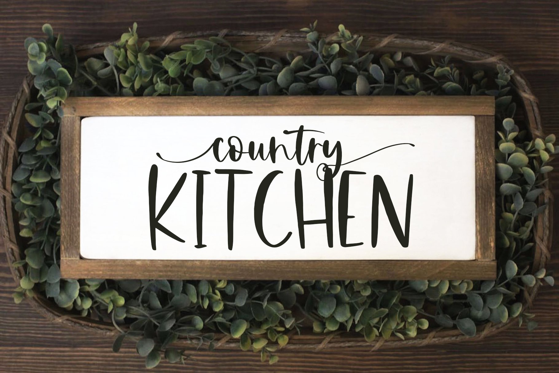 Farmhouse Font Bundle - Handwritten Fonts for Crafters! example image 28