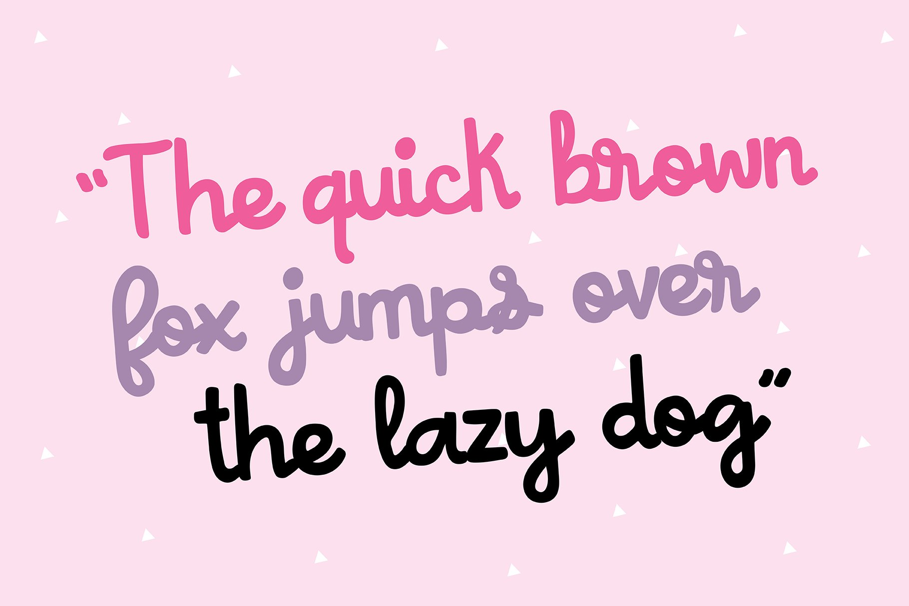 ANA NICOLE a Bold Script Font example image 4