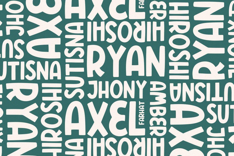 Polers - Sans Serif Font example image 5