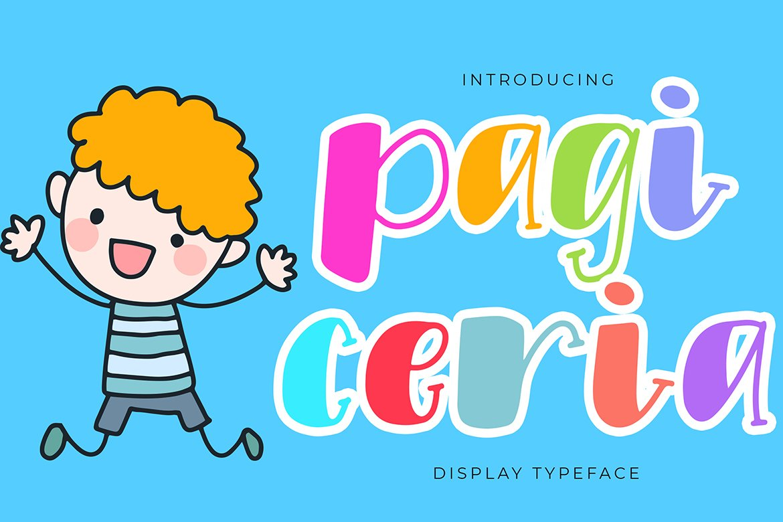 Pagi Ceria Extraordinary Font example image 1