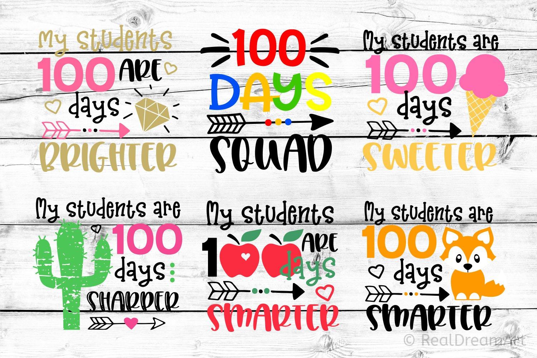 Download 100 Days Of School Teacher Bundle Svg Dxf Png Eps 445110 Svgs Design Bundles