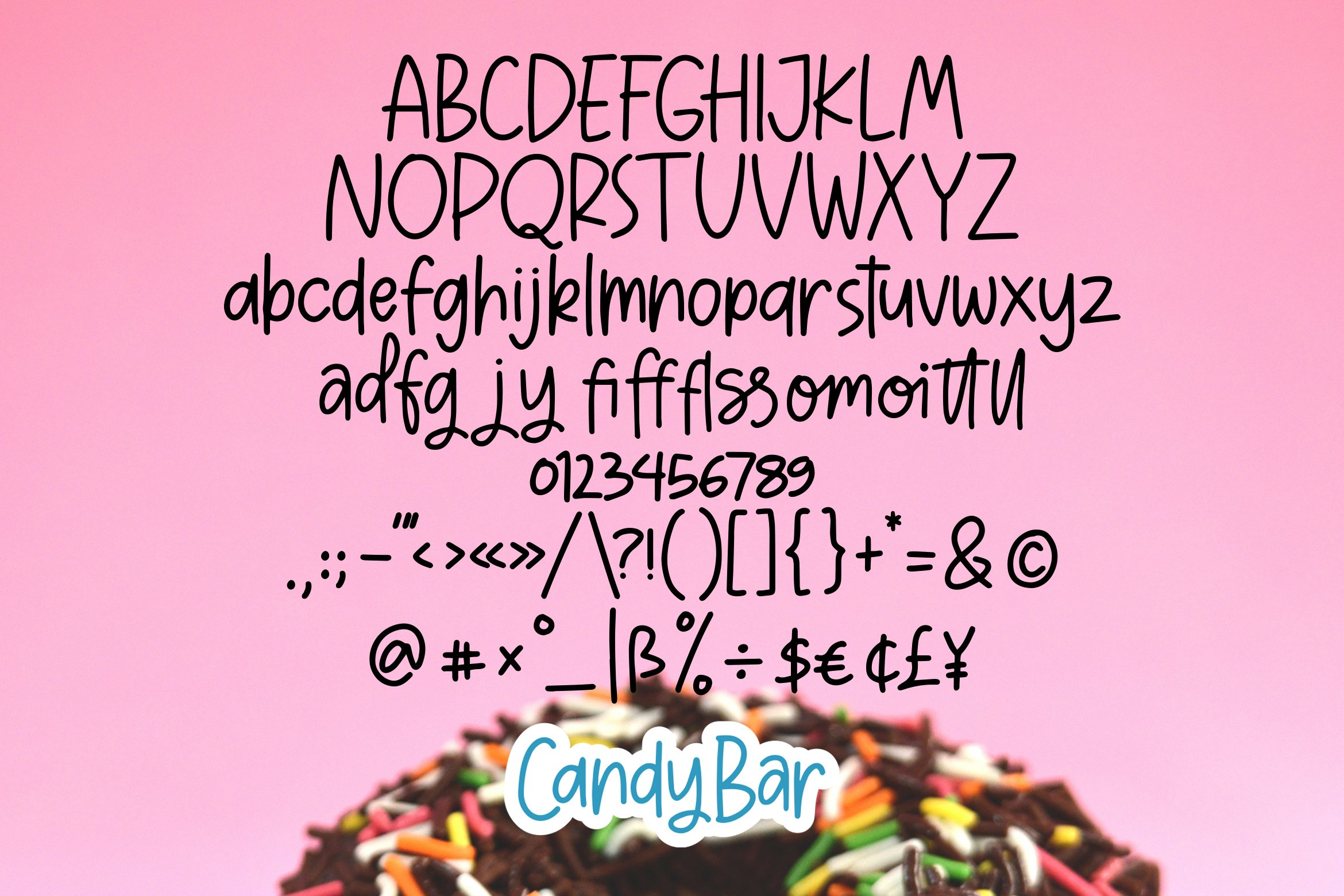 CandyBar - Quirky Font example image 5