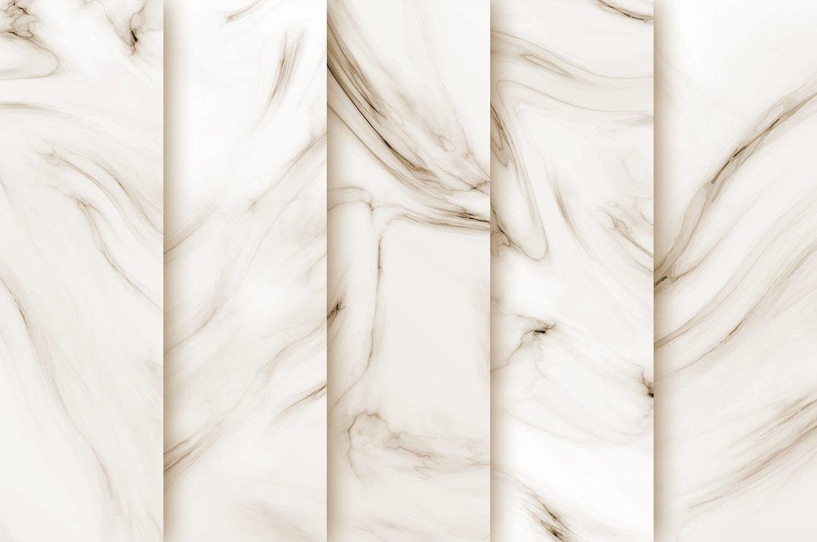Wedding Marble Digital Paper example image 3