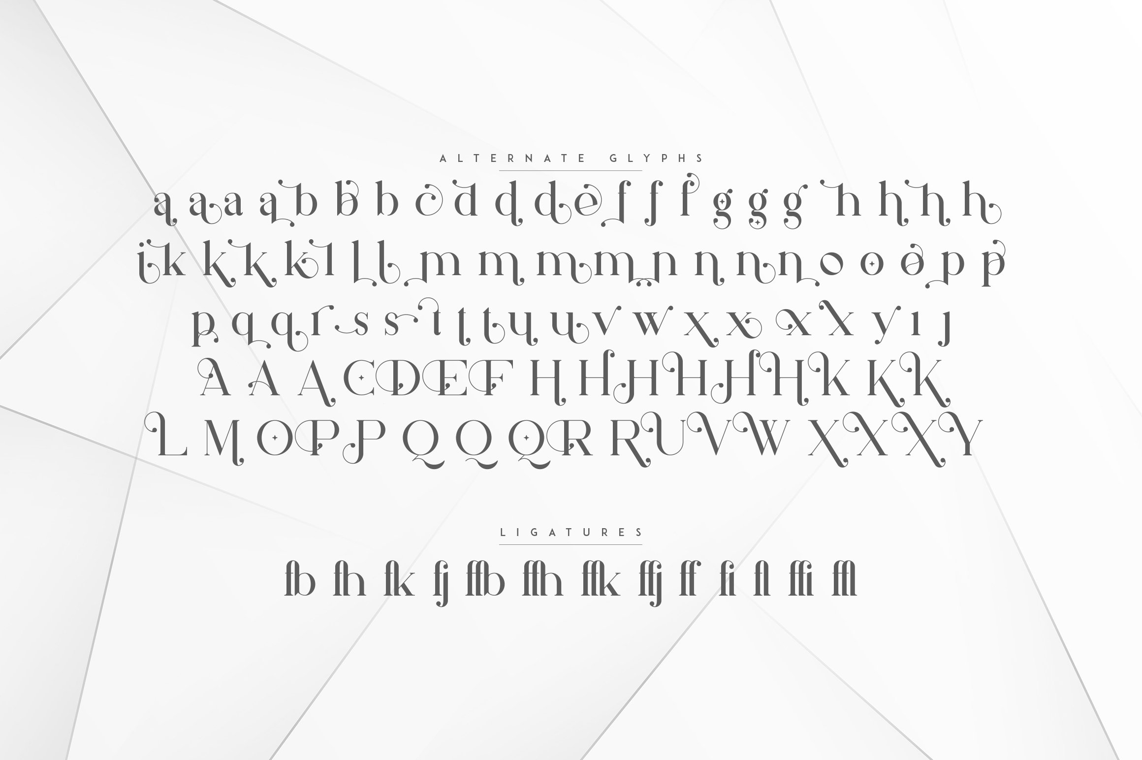 Silver Queen - Serif Typeface example image 9