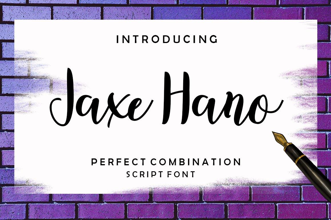 Jaxe Hano example image 1
