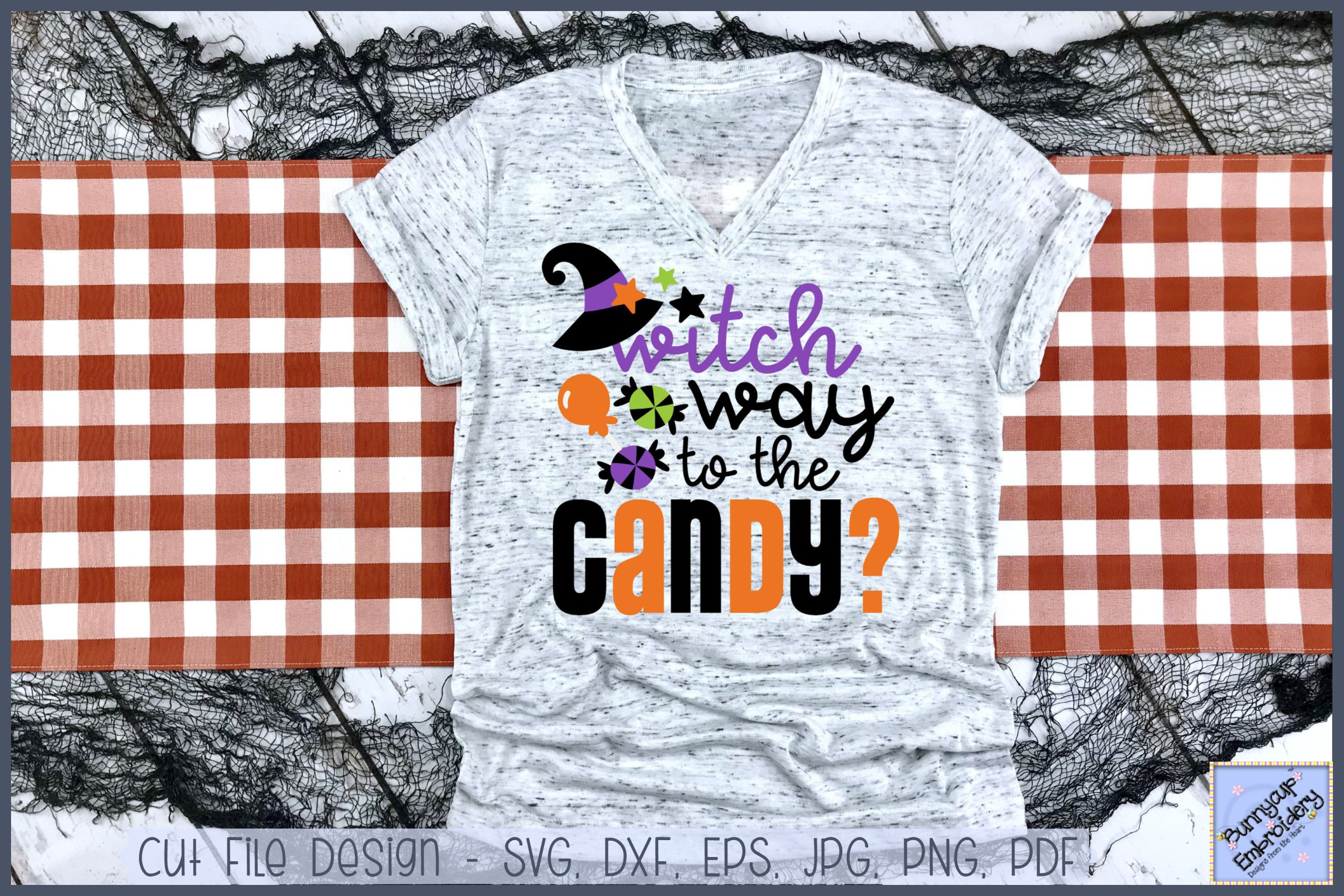 Witch Way To The Candy Svg Clipart Printable 359140 Cut Files Design Bundles