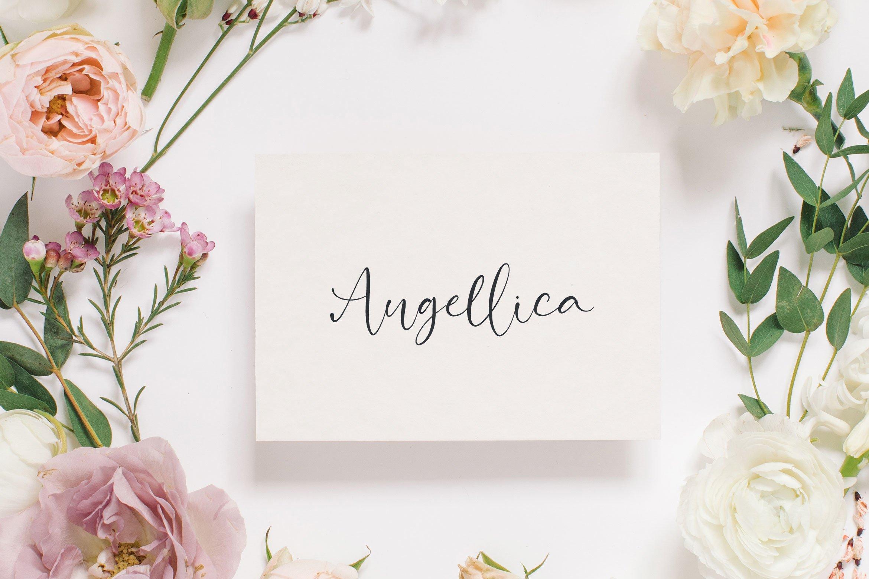 Attractive Modern Handwritten example image 4
