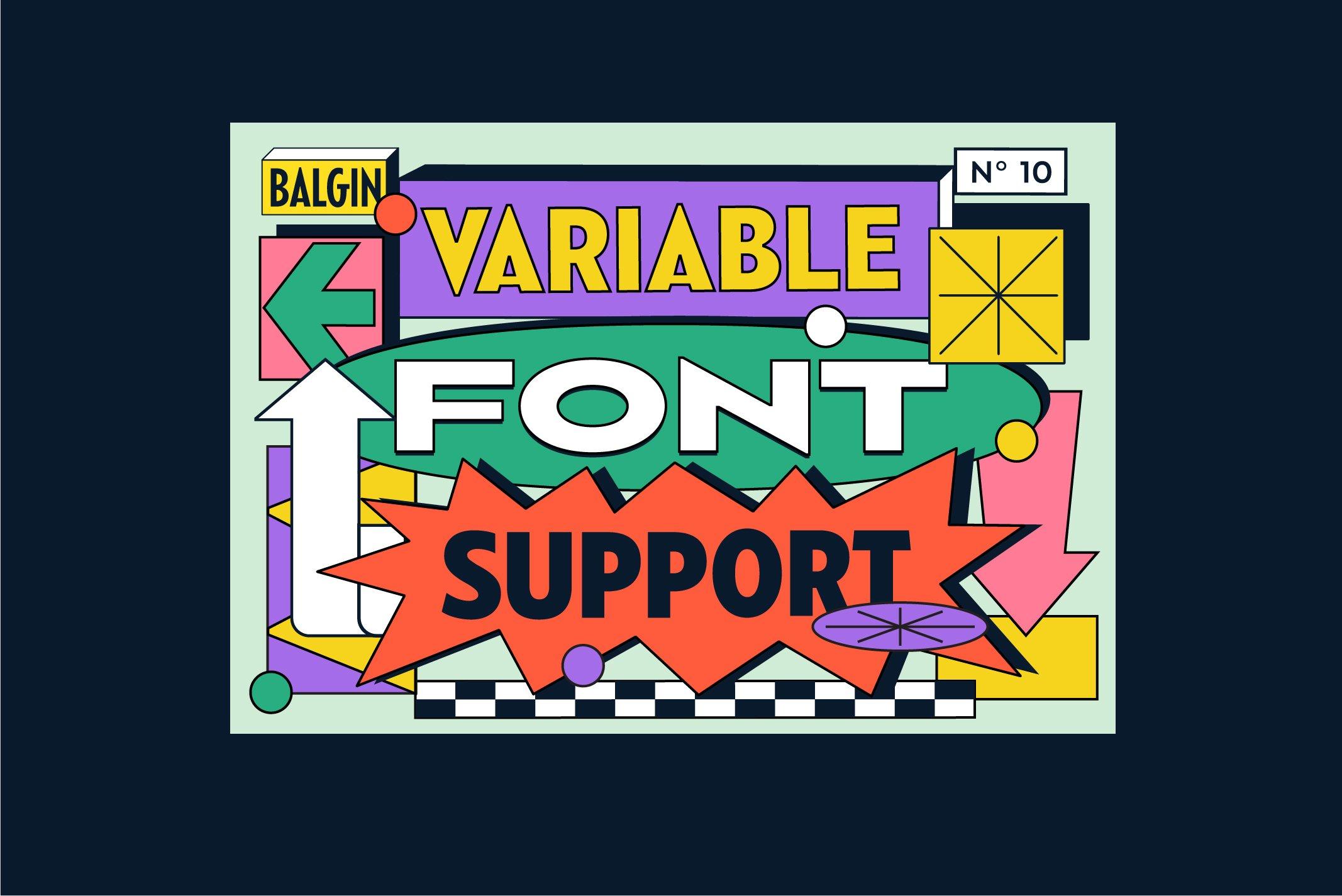 Balgin Font Family example image 4