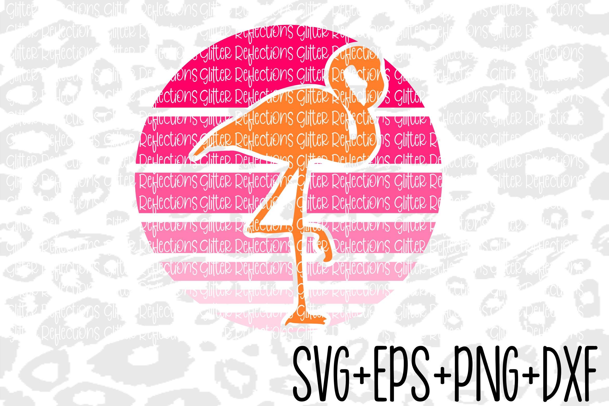 Ombre Flamingo Svg Dxf Eps Png Shirt Design Cut File 257812 Svgs Design Bundles