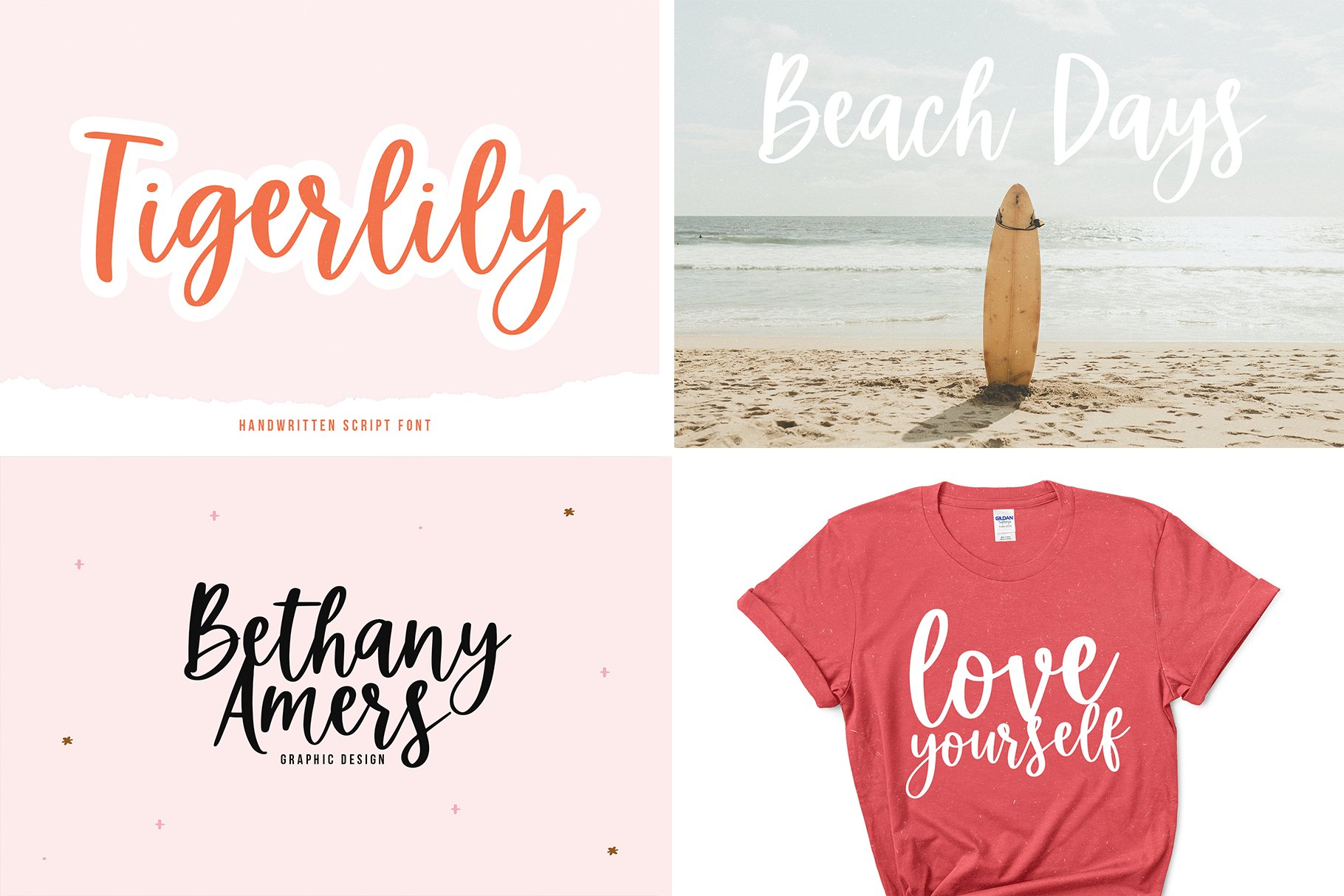 Font Bundle - Handwritten Fonts for Crafters! example image 5