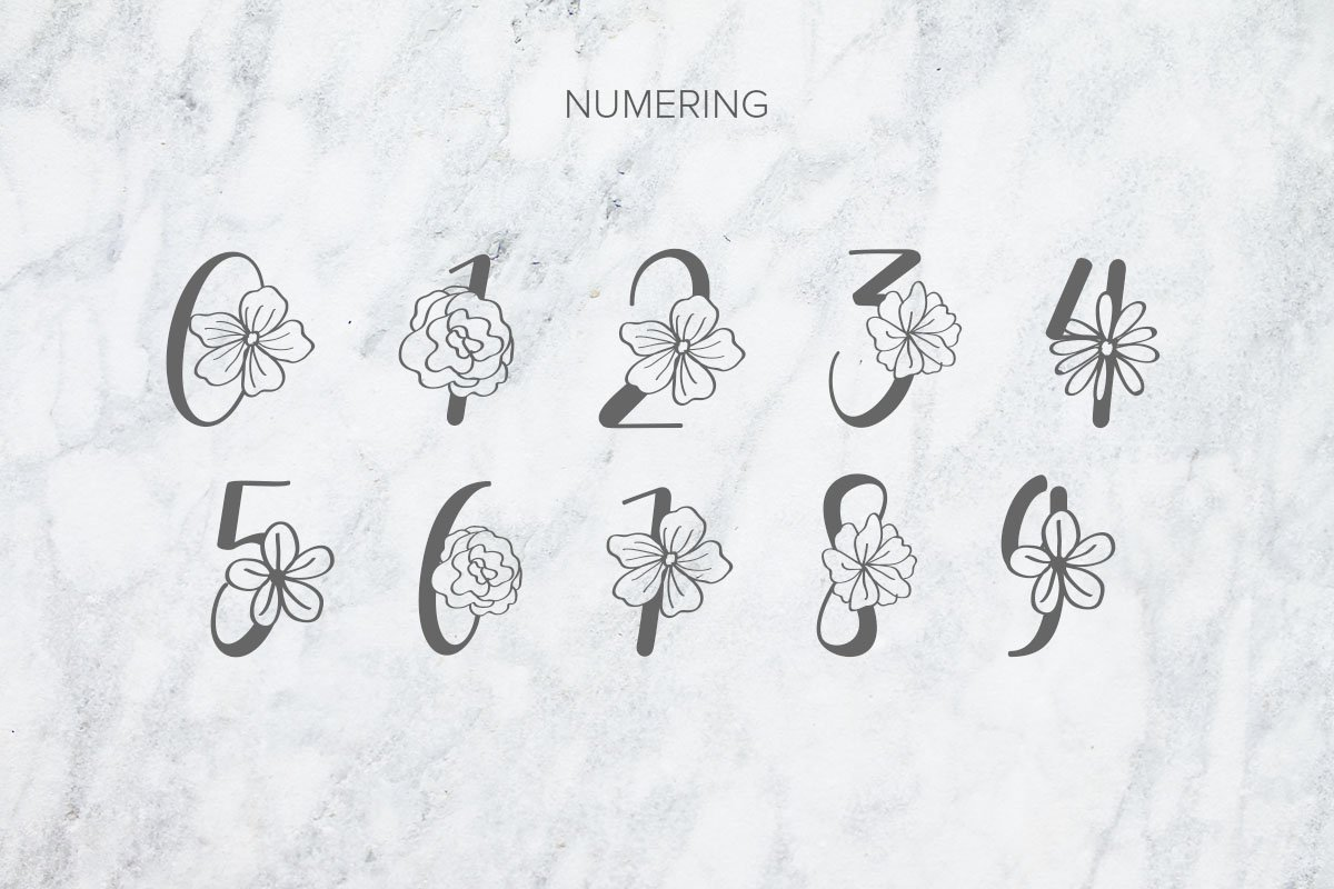 Flanela Monogram example image 3