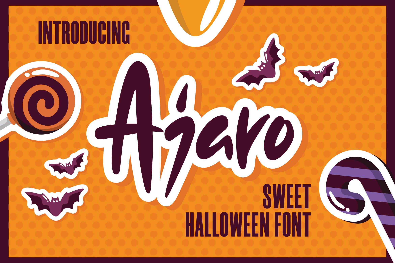 Ajaro - Sweet Halloween Font example image 1