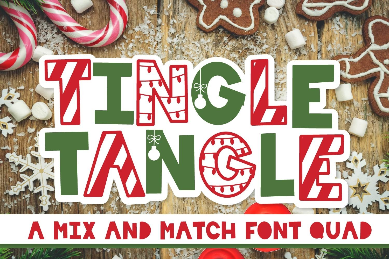 20 Christmas Fonts - A Christmas Font Bundle! example image 15