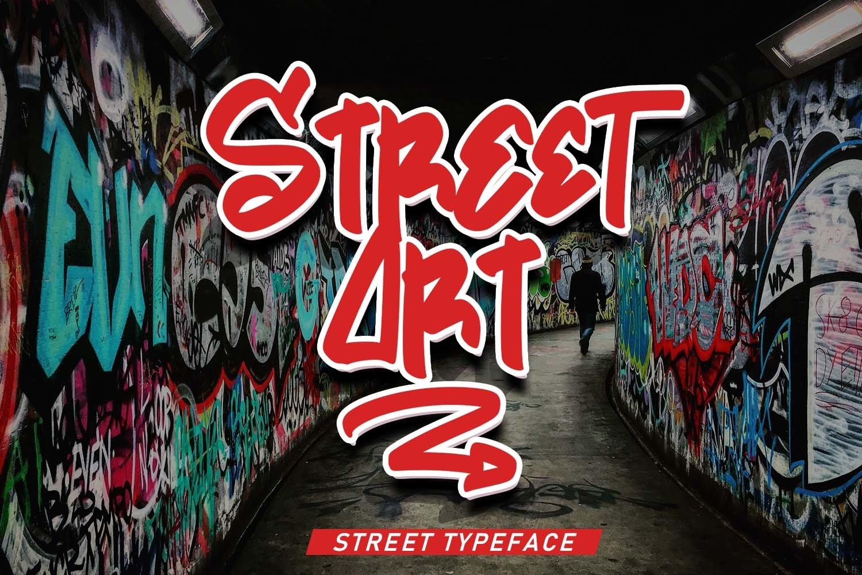 Street Art | Street Typeface example image 1