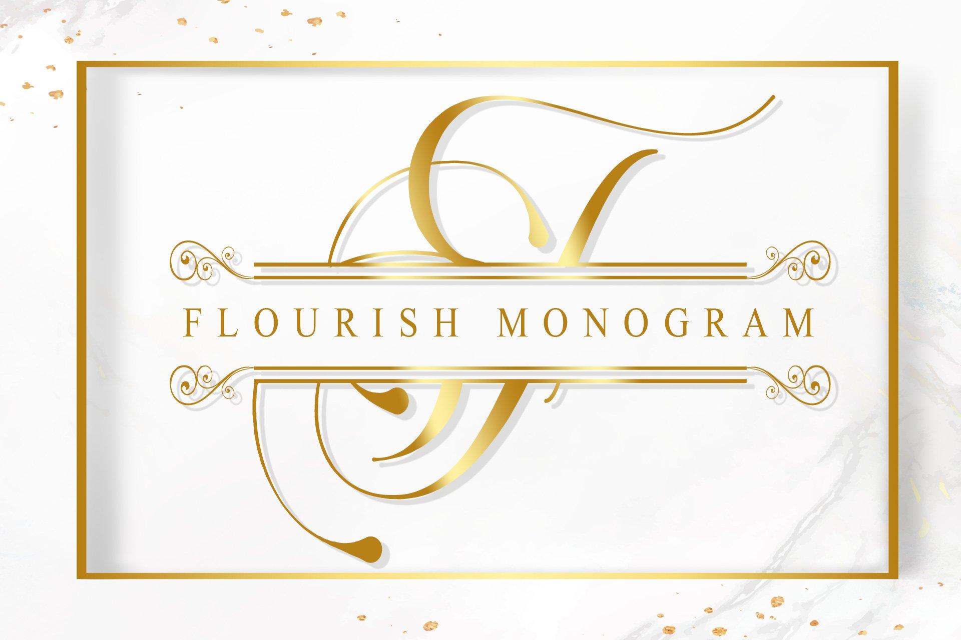 Flourish Monogram example image 1