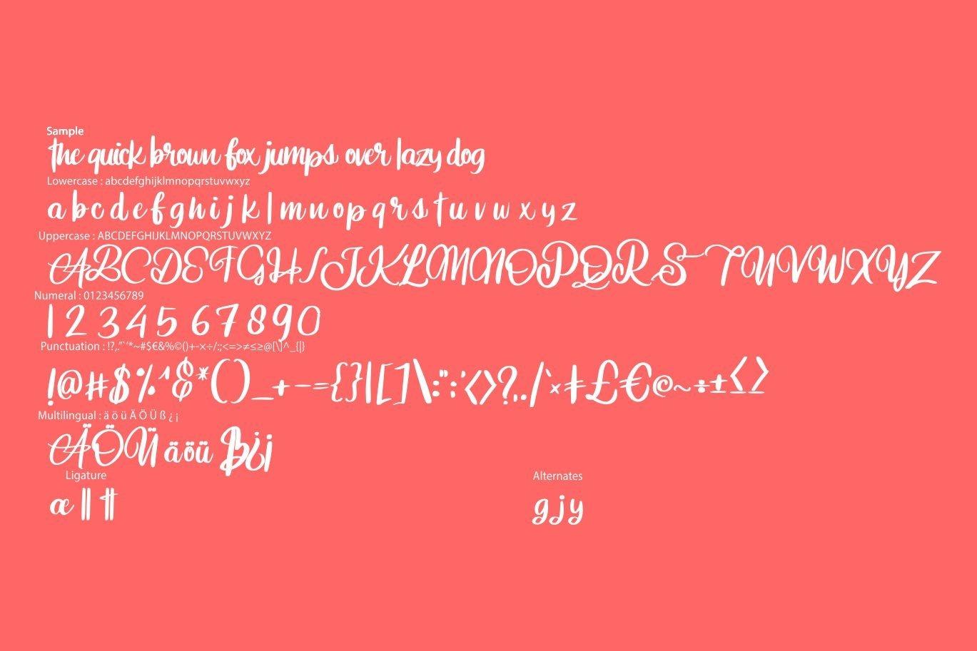Aniabellia   Beauty Script Typeface example image 6