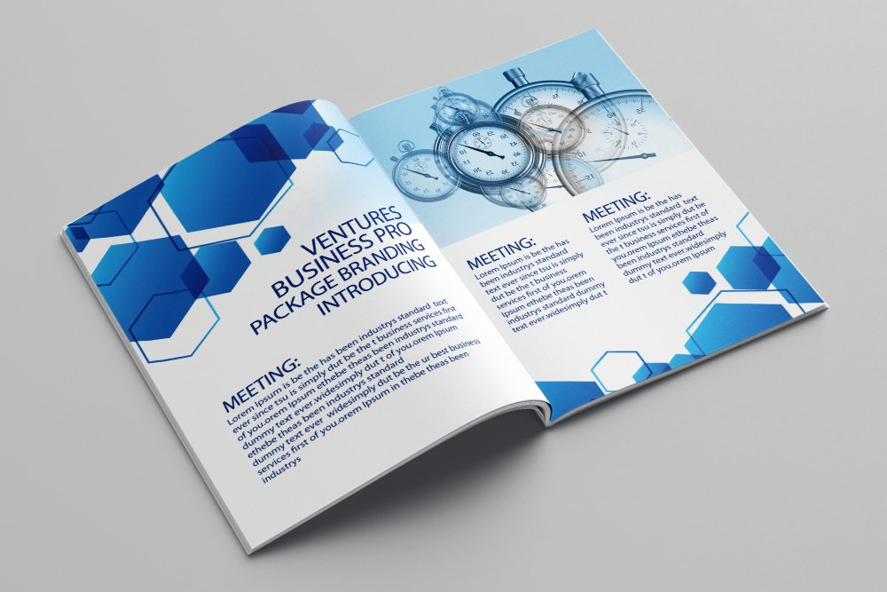 Business Agency Bifold Brochure 16 Pages example image 4