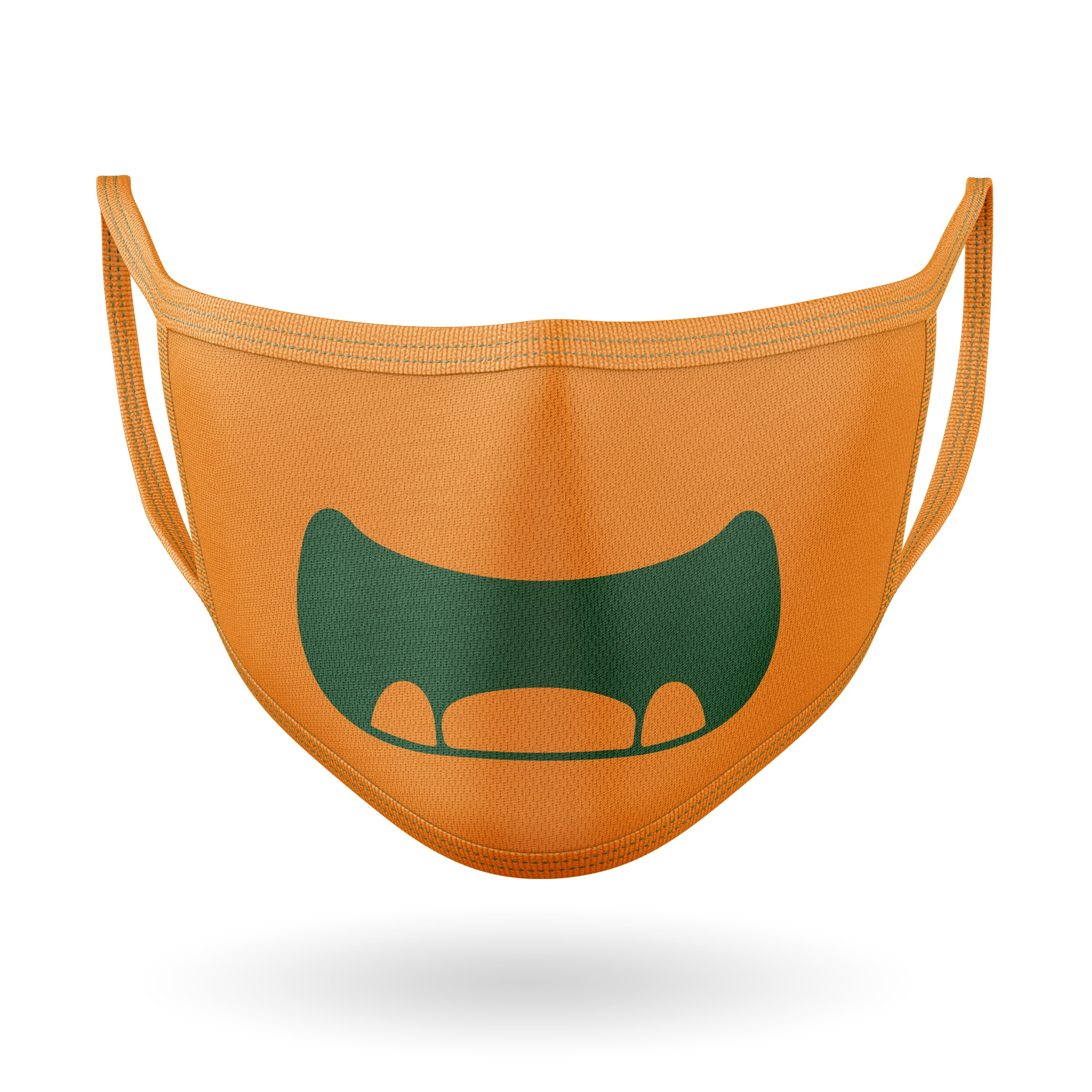 10 Monster Faces for Masks - SVG Cut Files example image 4