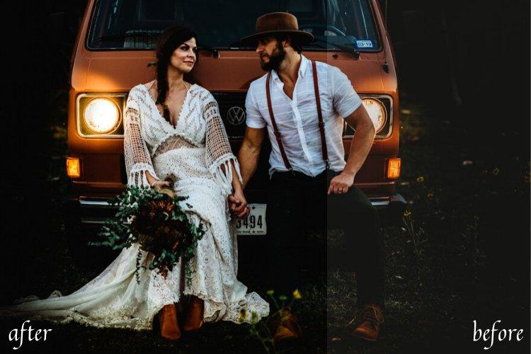 Wedding Mobile and Desktop Lightroom Presets example image 3
