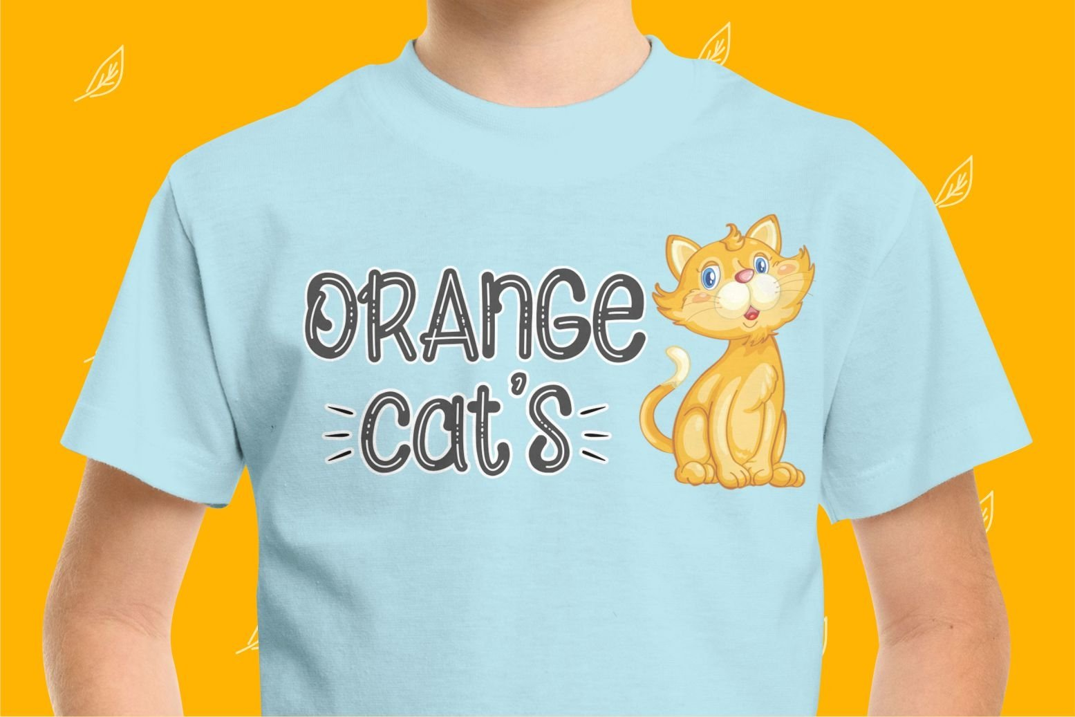Orange Cats Display Font example image 7