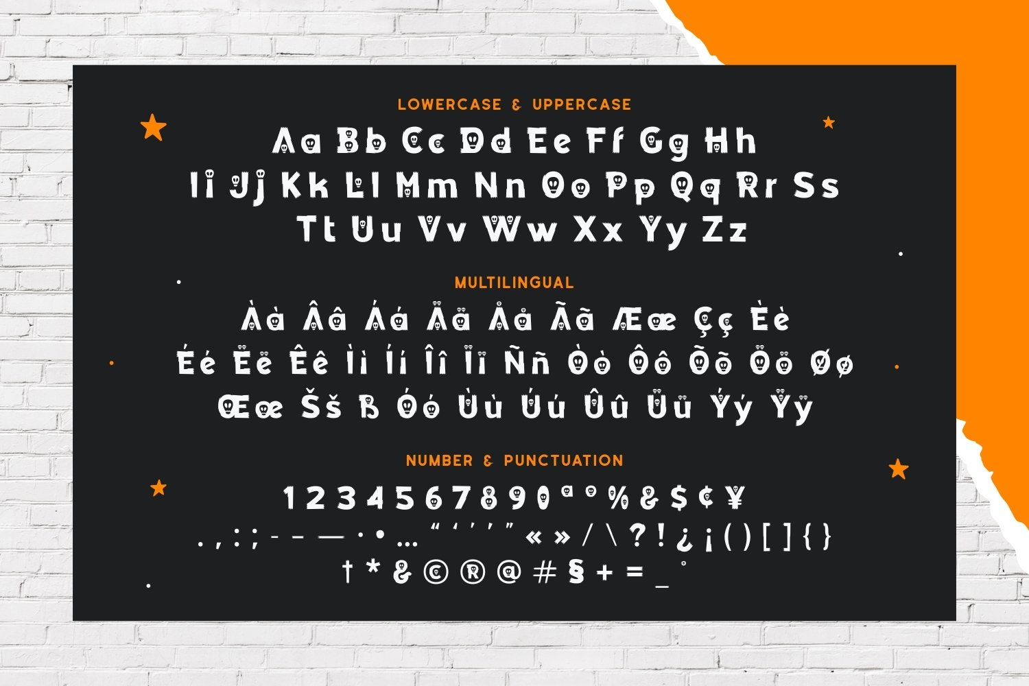 Pic A Boo - Halloween Display Typeface example image 5