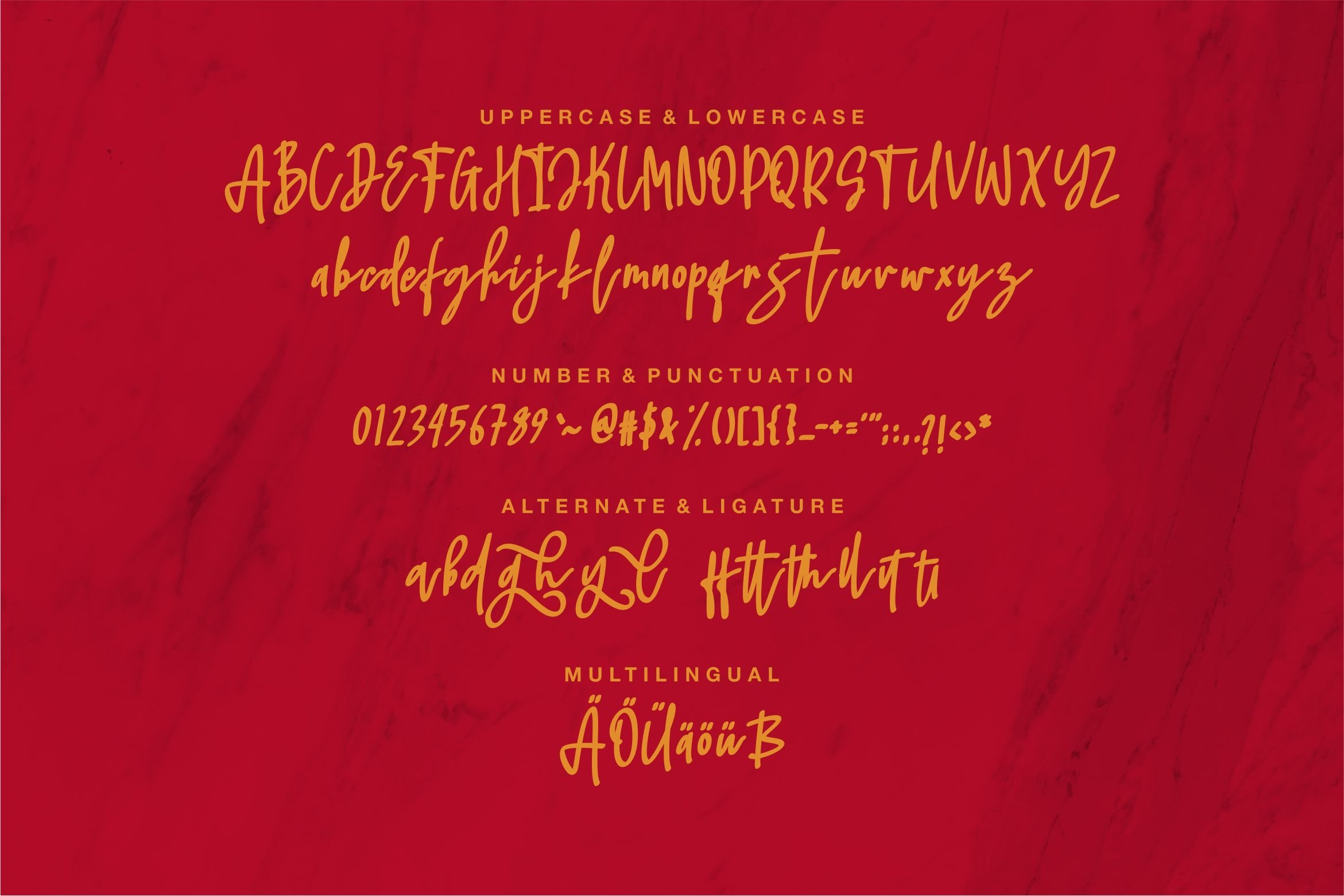 Jhaliel - Beauty Script Font example image 5