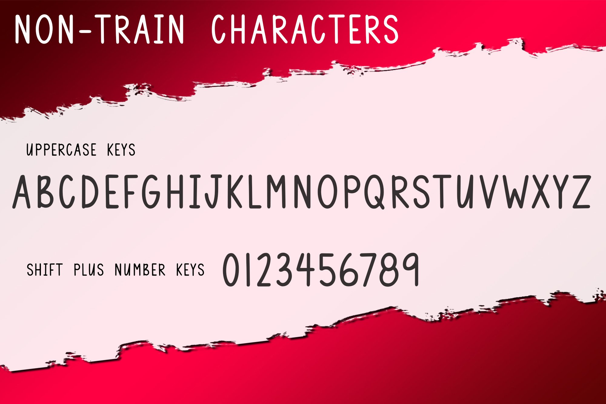 Christmas Train - A Fun Holiday Font example image 4