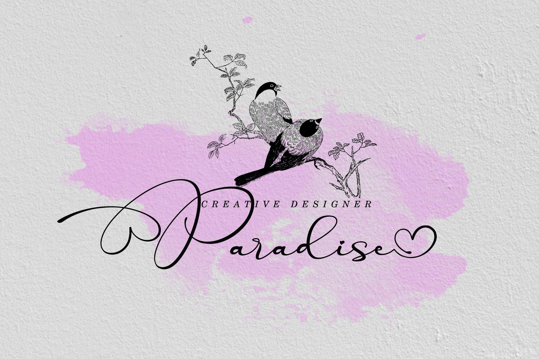 Parallove // Love Script Font example image 4