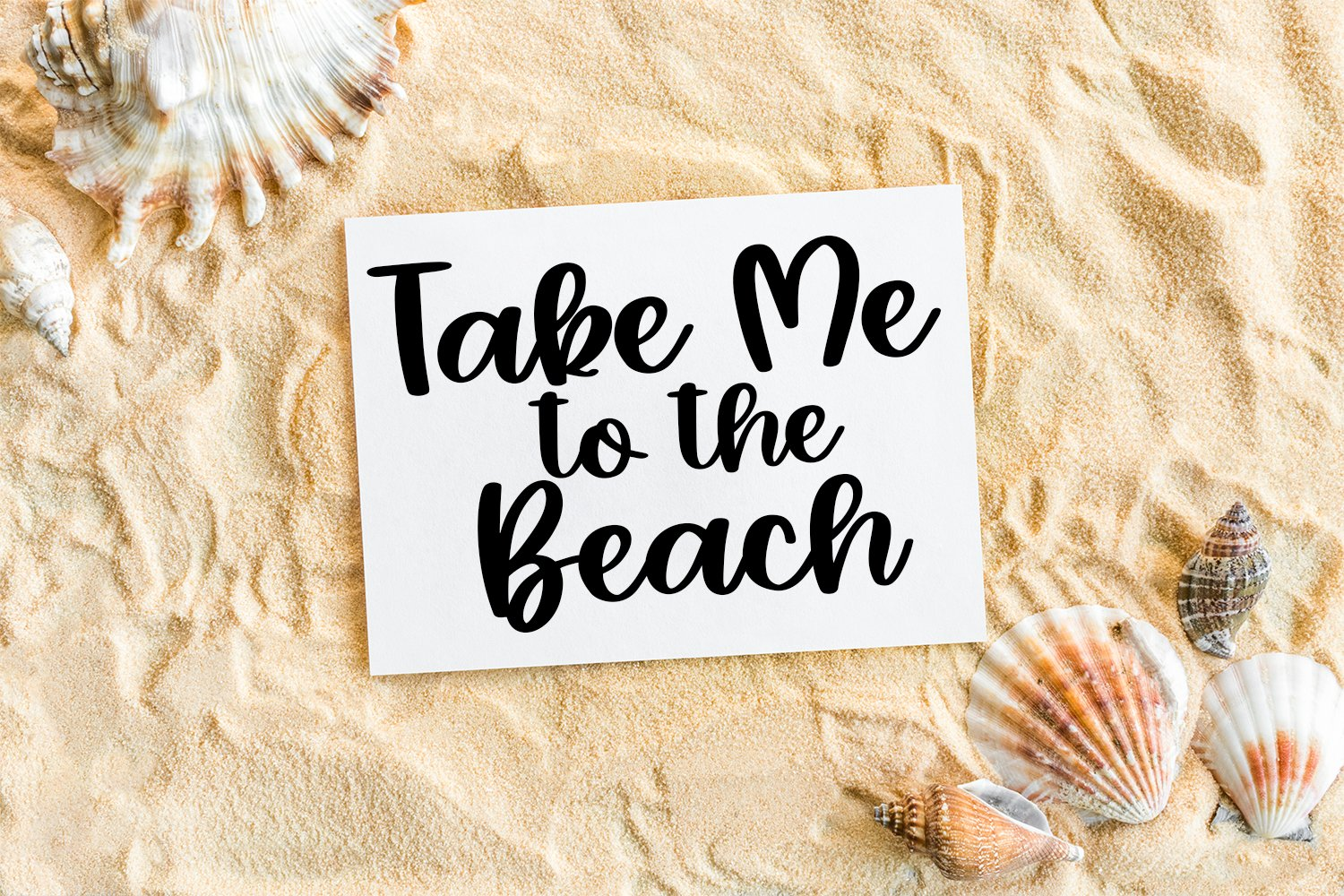 Summer Rainbows - A Hand-Lettered Script Font example image 4