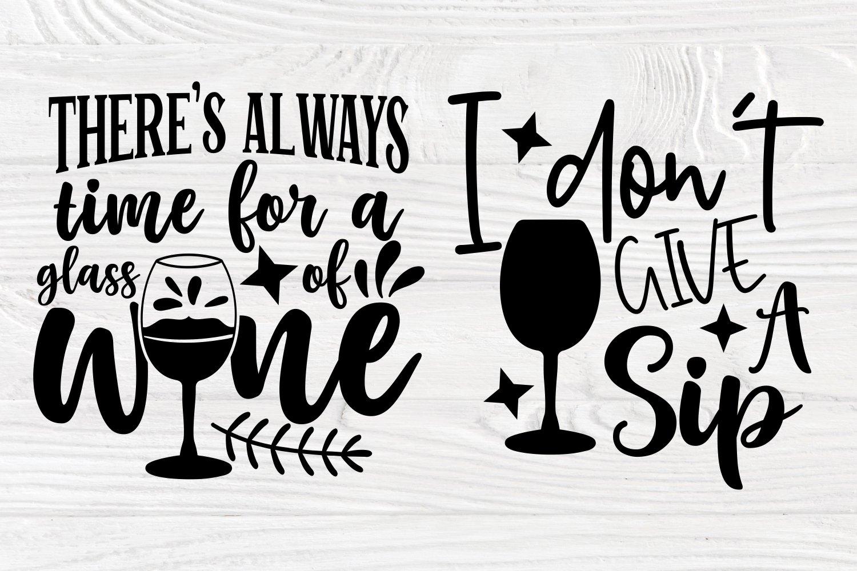 Download Wine Svg Bundle Wine Glass Svg Drinking Svg Shirt Designs 761304 Cut Files Design Bundles