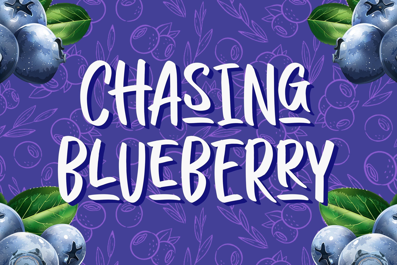 Chasing Blueberry example image 1