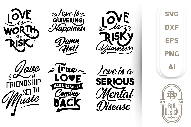 Download Valentine Svg Sayings Quote About Love Svg Cut Files 448489 Cut Files Design Bundles