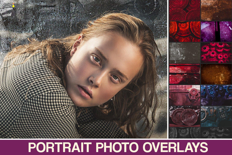 Vintage textures, Photoshop overlays, informal effects,urban example image 1