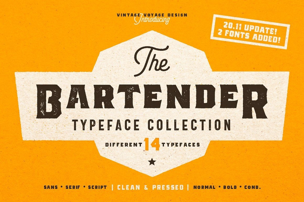 Huge Typographic Pack 60 Logos ! example image 6
