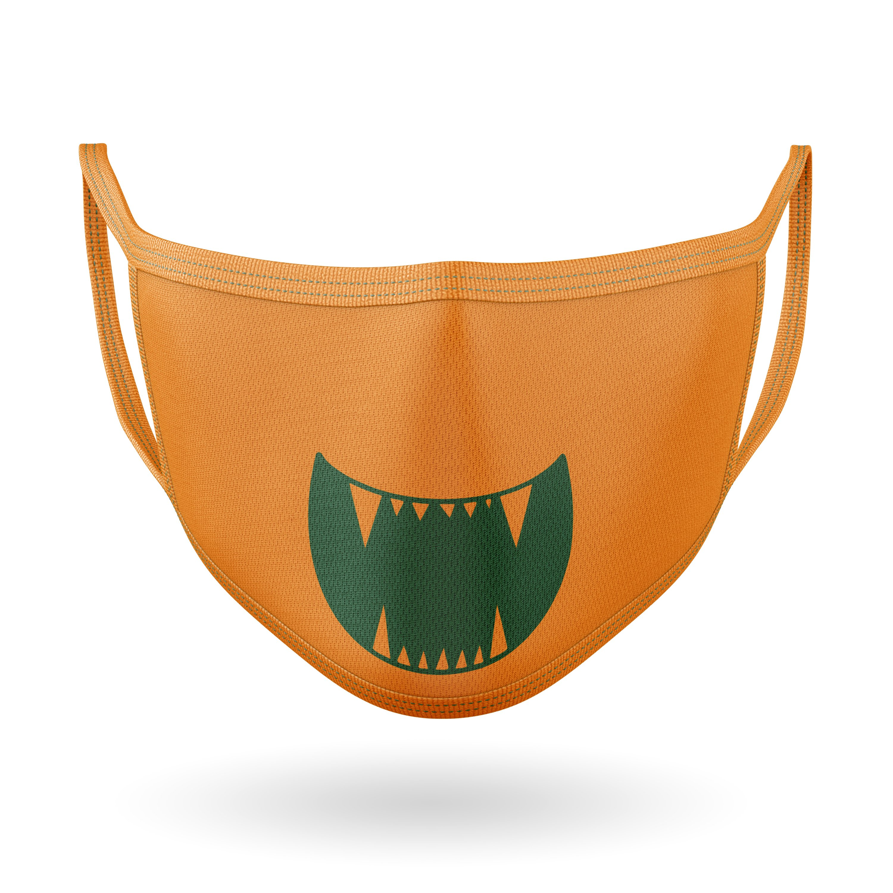 10 Monster Faces for Masks - SVG Cut Files example image 8