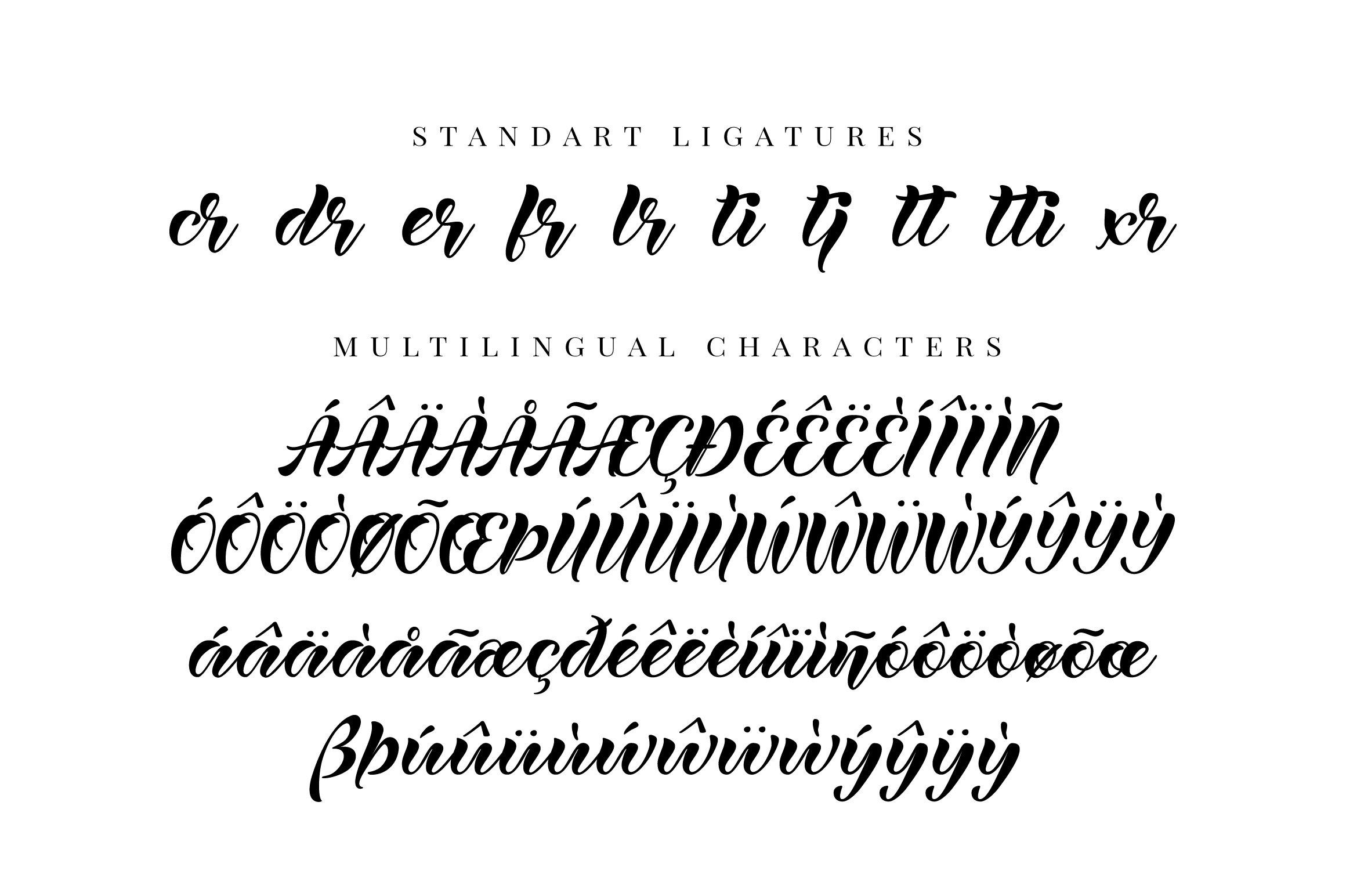 Lanikai - calligraphy script font example image 9