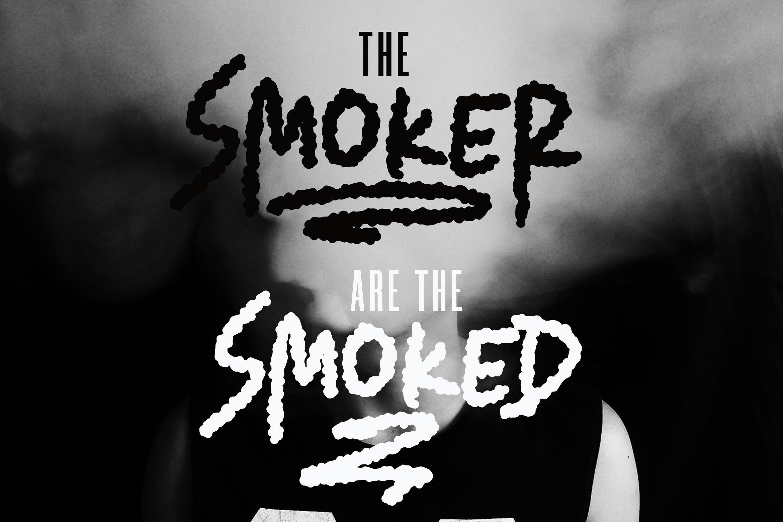 Smoker - Rough Smoked Font example image 3