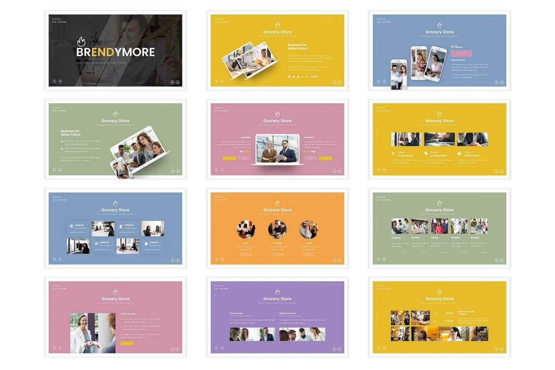 Brendymore - Keynote Template example image 4