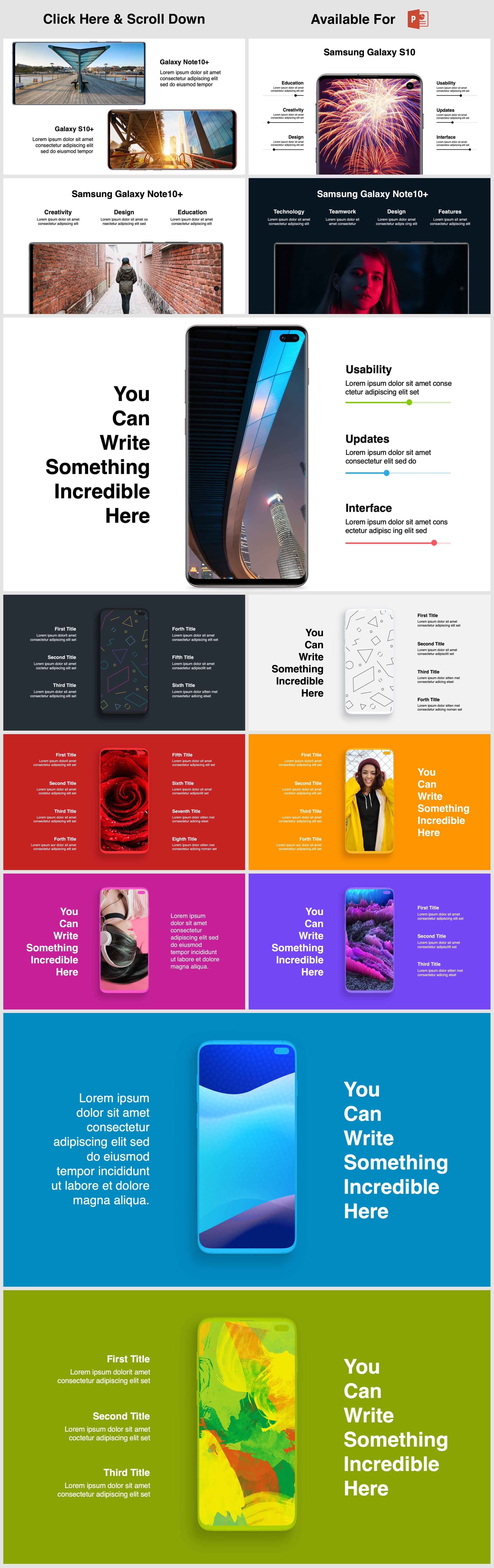 Animated Mockups Presentation Bundle. Infographic Templates. example image 19