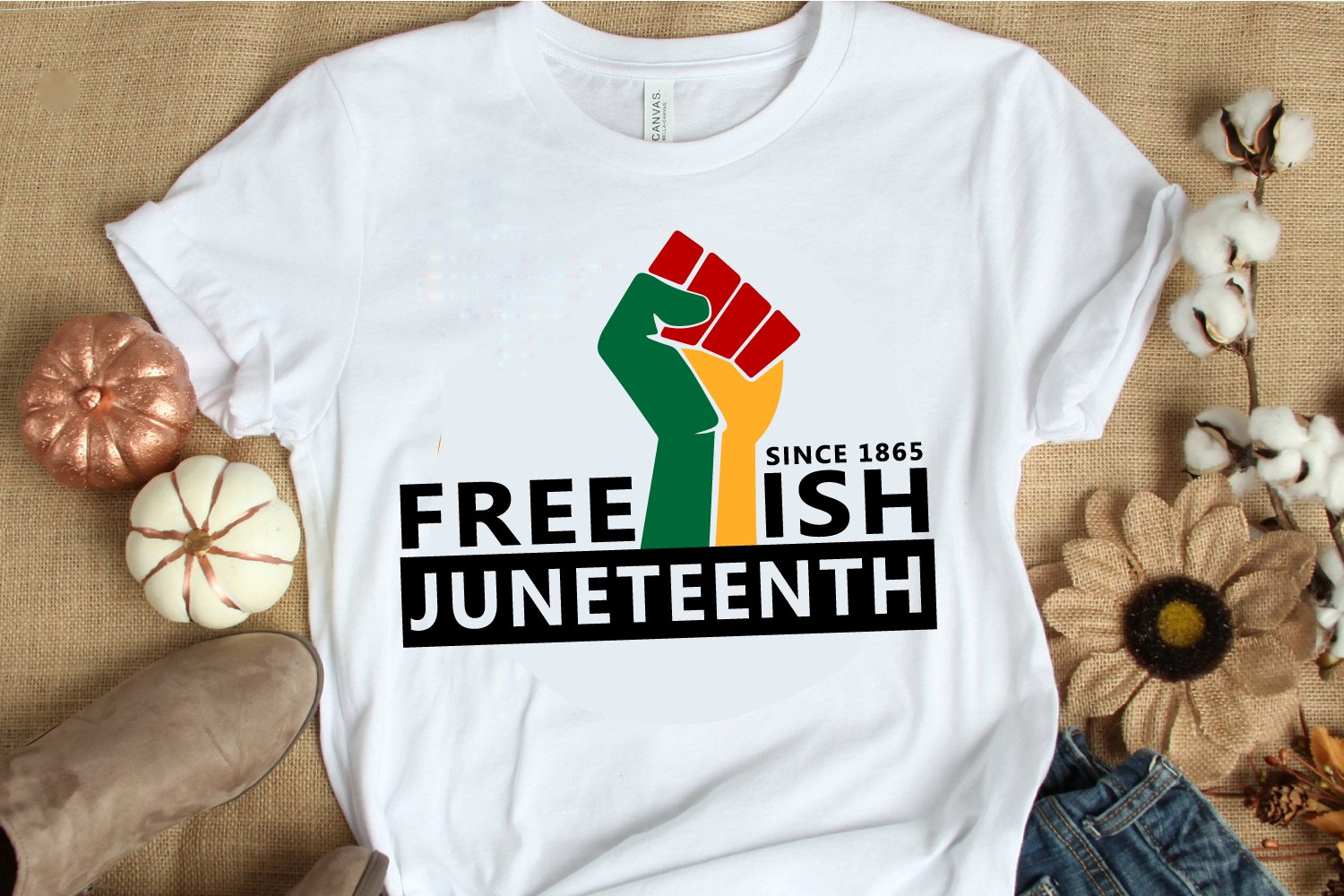 Juneteenth SVG PNG DXF EPS Files for Cutting and Printing example image 2