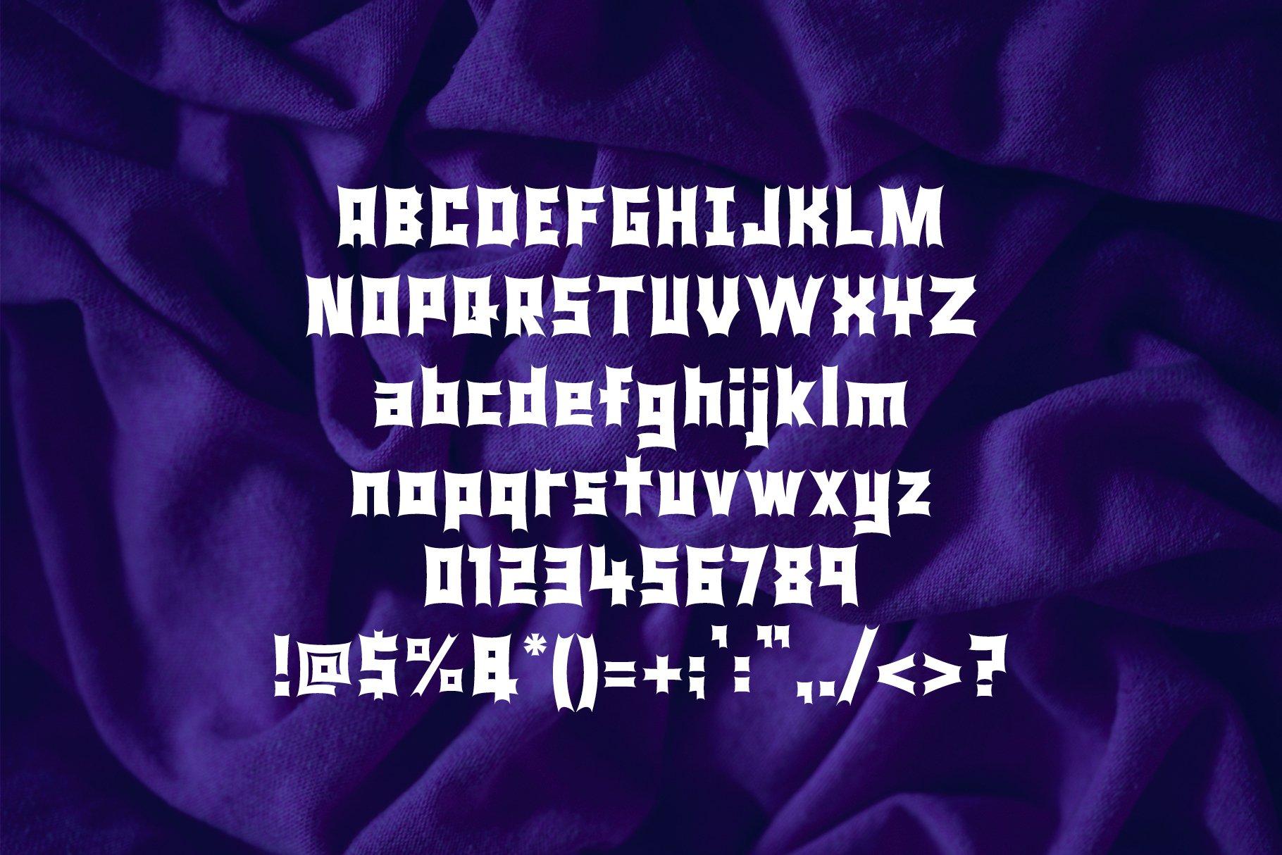 Monster Rock font - Monsta Rocka example image 12