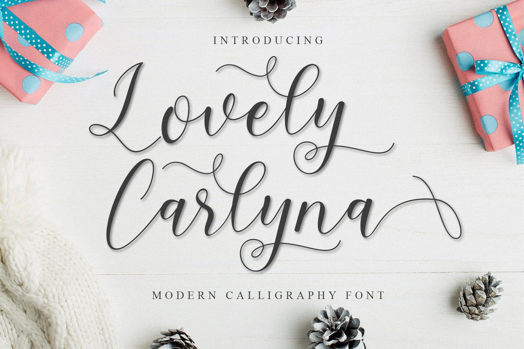 Beautiful Font Bundle example image 20