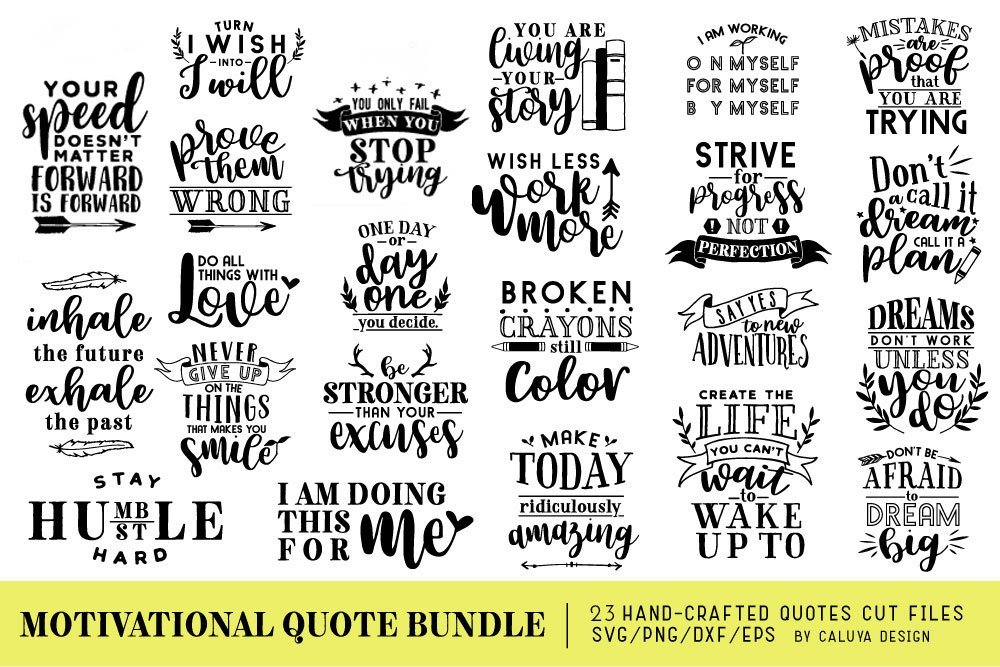 Large Wall Art Home Decor JPG Quote Print SVG Saying File DXF Laser Cutting File Motivation Quote Printable Digital Vector Art Cricut