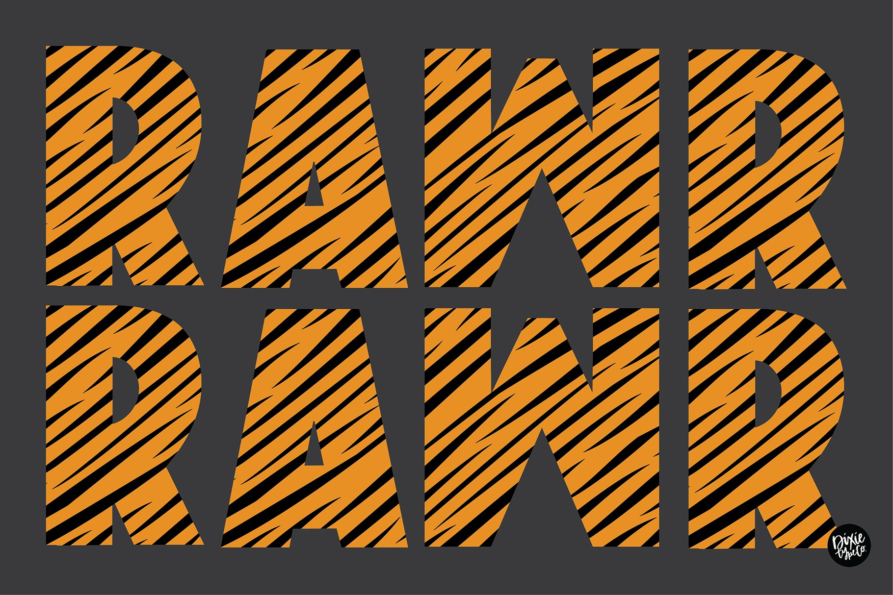 TIGER STORY Color Font Duo example image 2
