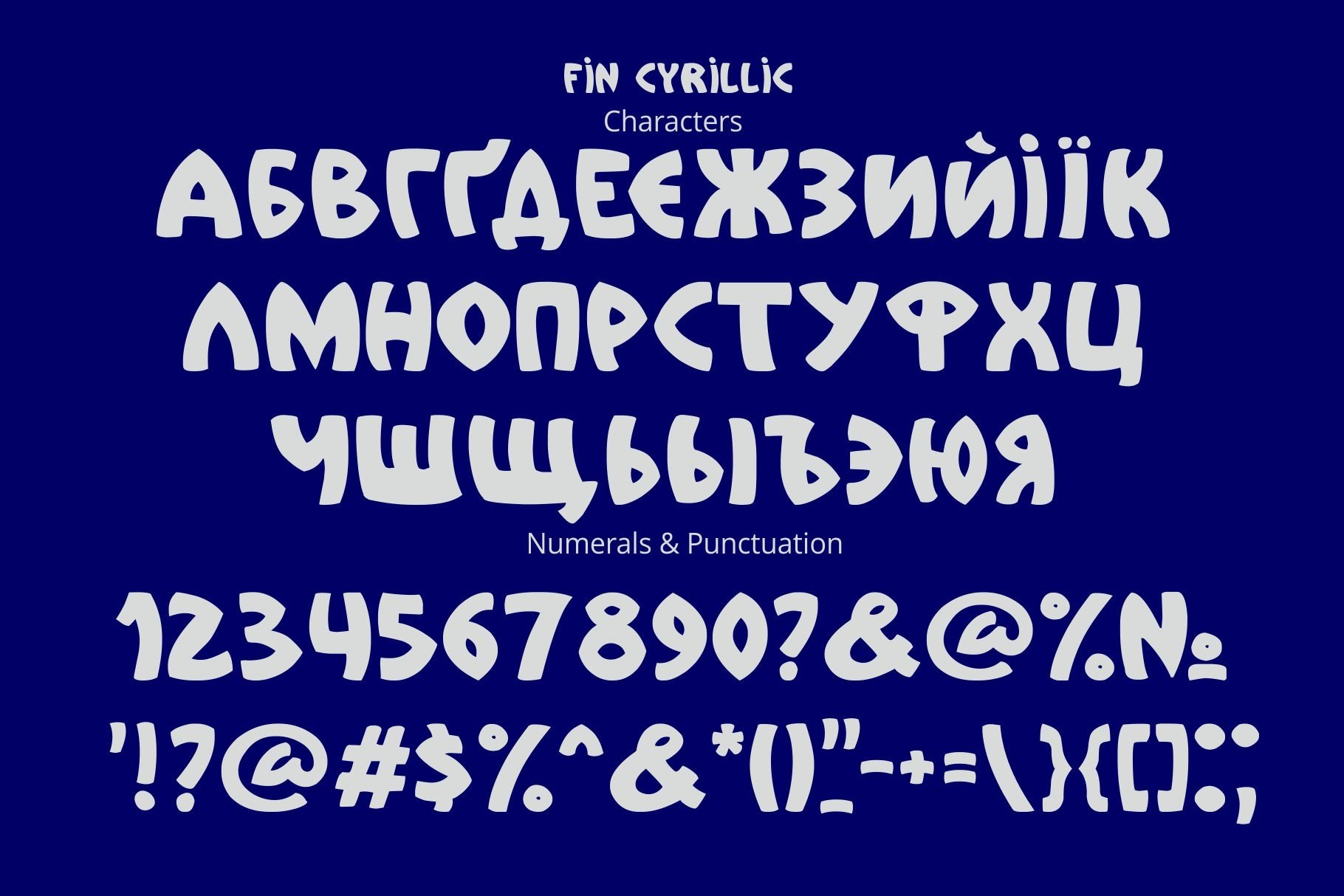Fin Font example image 3