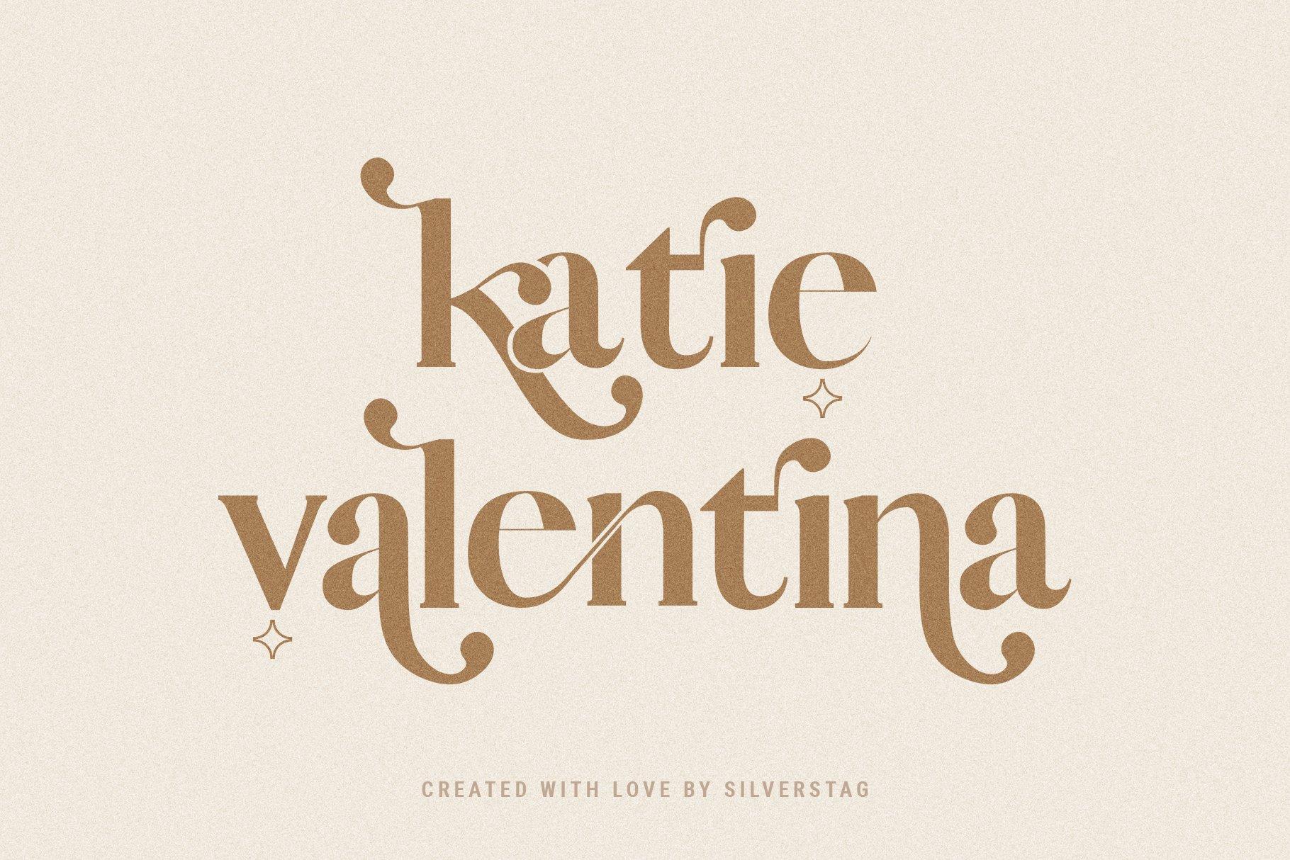 Vicky Christina - Chic & Stylish Ligature Serif Font example image 16