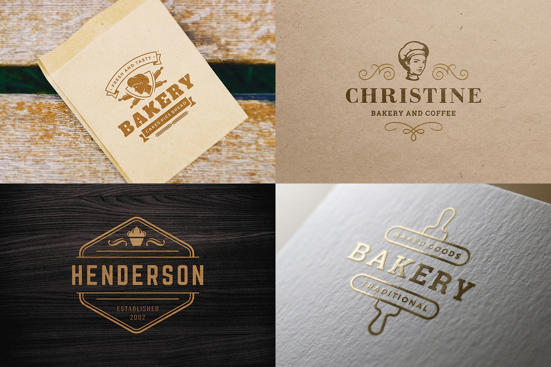 Bakery Logos and Badges example image 10